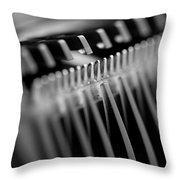 Abstract Razor Throw Pillow