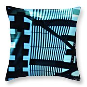 Abstract Reflection 13 Throw Pillow by Sarah Loft