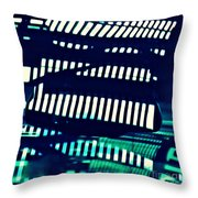 Abstract Reflection 8 Throw Pillow by Sarah Loft