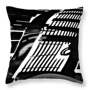 Abstract Reflection Throw Pillow by Sarah Loft