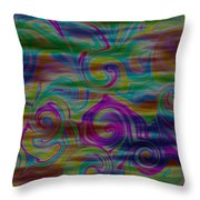 Abstract Series 5 Number 4 Throw Pillow