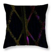 Abstract Series Xxx Throw Pillow