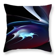 Abstract Shape Throw Pillow