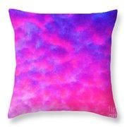 Abstract Sky Throw Pillow