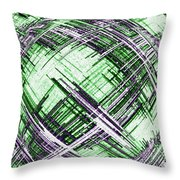 Abstract Spherical Design Throw Pillow