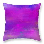 Abstract Splendor Throw Pillow