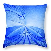 Abstract Structure Throw Pillow