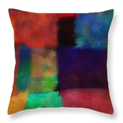 Abstract Study Five - Abstract - Art Throw Pillow