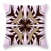 Abstract Symmetry-3 Throw Pillow