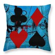 Abstract Tarot Art 012 Throw Pillow