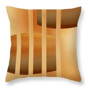 Abstract  The Cords Throw Pillow