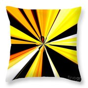 Abstract Tiger Art Throw Pillow
