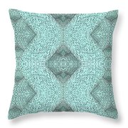 Abstract Urban City In Knot Boxes From Cube 01 Throw Pillow