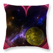 Abstract View Of The Universe Throw Pillow