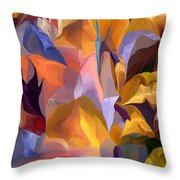 Abstract Vignettes Throw Pillow