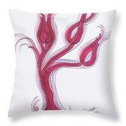 Abstract Viii Throw Pillow