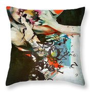 Abstract Women 025 Throw Pillow