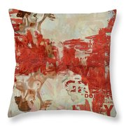 Abstract Women 20 Throw Pillow