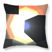 Abstract Work Throw Pillow