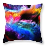 Abstractc1 Throw Pillow