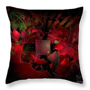 Abstractiom 0577 Marucii Throw Pillow