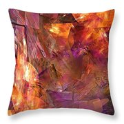 Abstraction  0273 Marucii Throw Pillow