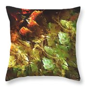 Abstraction 0277 Marucii Throw Pillow