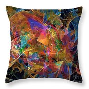 Abstraction 0357 Marucii Throw Pillow