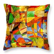 Abstraction 0368 Marucii Throw Pillow