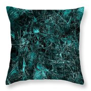 Abstraction 0378 Marucii Throw Pillow