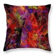 Abstraction 0383 - Marucii Throw Pillow