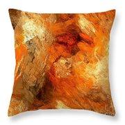 Abstraction 0388 - Marucii Throw Pillow