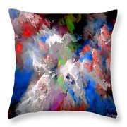 Abstraction 0392 Marucii Throw Pillow