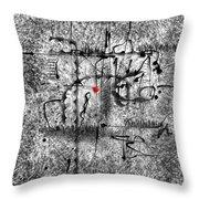 Abstraction 0416 Marucii Throw Pillow