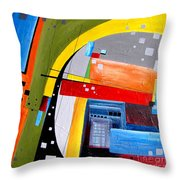 Abstraction 0468 Marucii Throw Pillow
