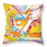 Abstraction 0473 Marucii Throw Pillow