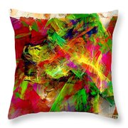 Abstraction 0492 Marucii Throw Pillow