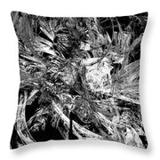 Abstraction  0495 - Marucii Throw Pillow