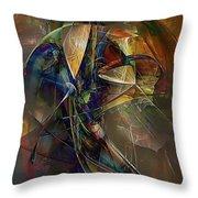 Abstraction 0497 Marucii Throw Pillow