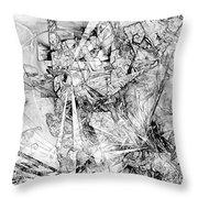 Abstraction 0521 - Marucii Throw Pillow