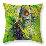 Abstraction 0527 Marucii Throw Pillow