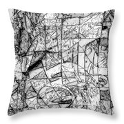 Abstraction 0538 - Marucii Throw Pillow