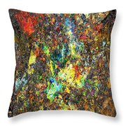 Abstraction 0557 Marucii Throw Pillow