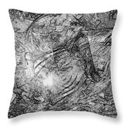Abstraction 0565 - Marucii Throw Pillow
