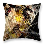 Abstraction 0576 - Marucii Throw Pillow