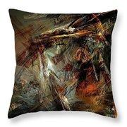 Abstraction 0599 - Marucii Throw Pillow