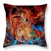Abstraction 0600 - Marucii Throw Pillow