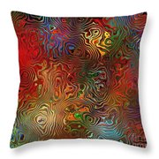 Abstraction 0612 Marucii Throw Pillow