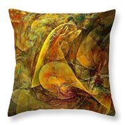 Abstraction 0627 - Marucii Throw Pillow
