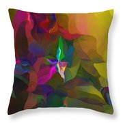 Abstraction 111212 Throw Pillow